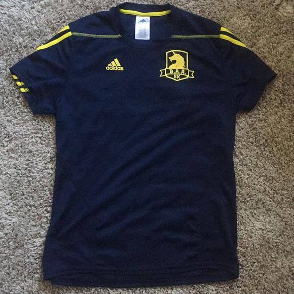 originales más de moda excepcional gama de estilos adidas Shirts | Mens Tshirt Soccer Jersey Blue Yellow | Poshmark